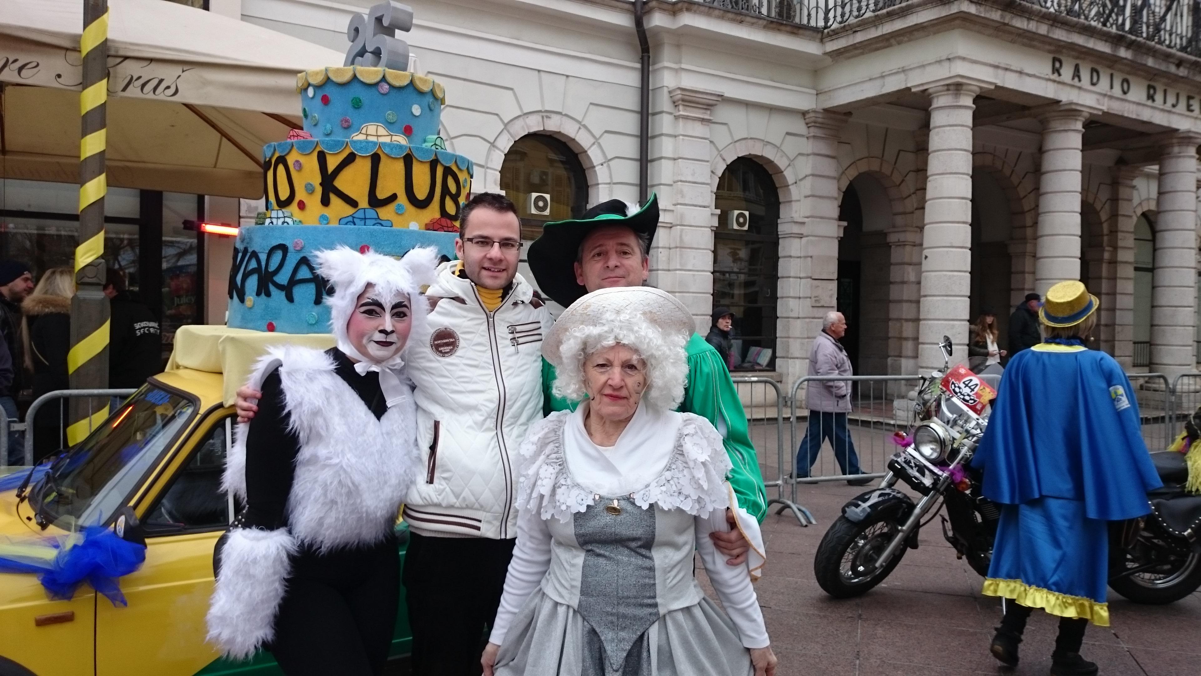 Карнавалното рали в Риека