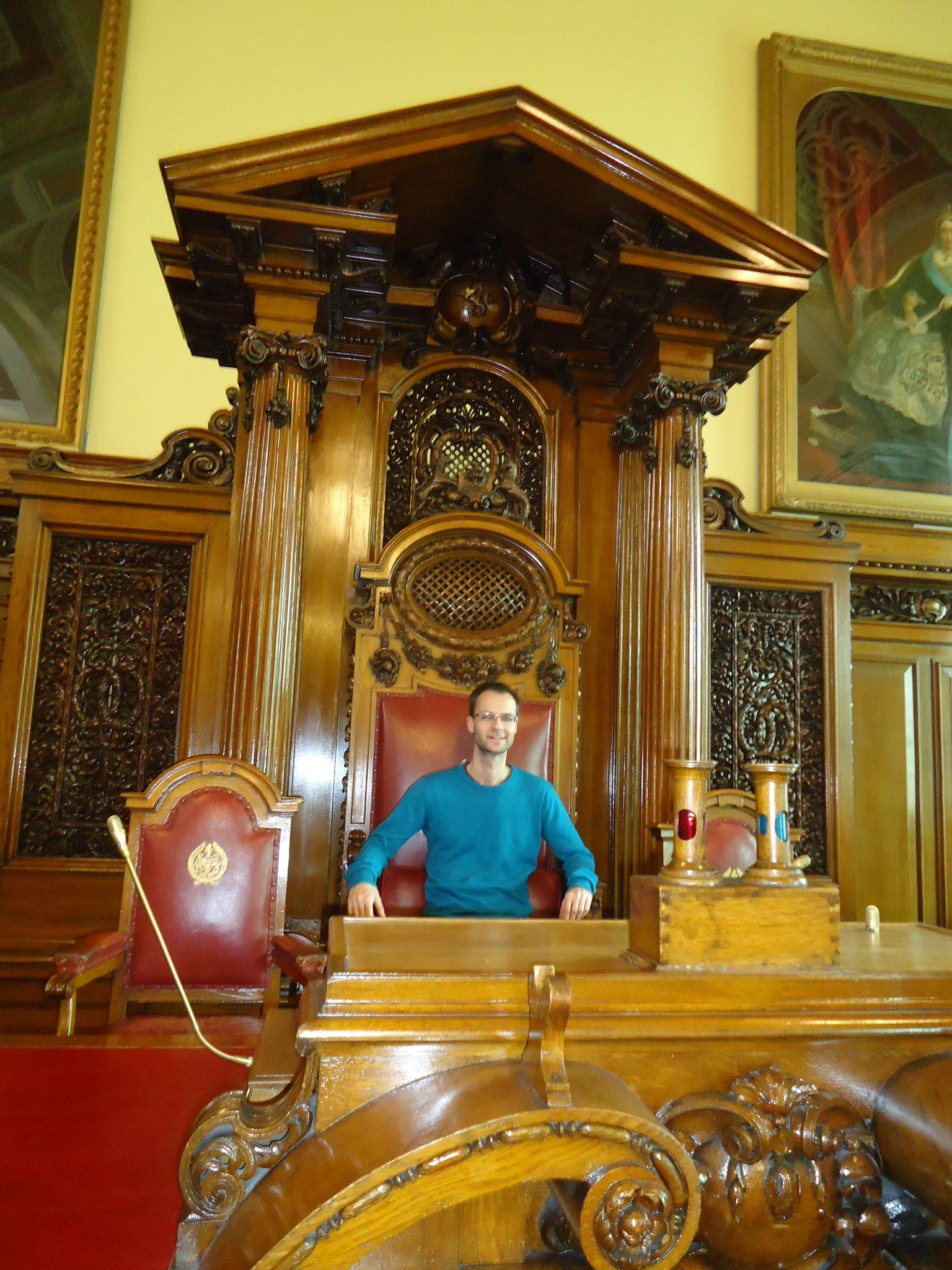 На гости в кметството на Белфаст