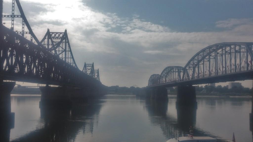Ляонин. Дандун. Мост на Дружбата