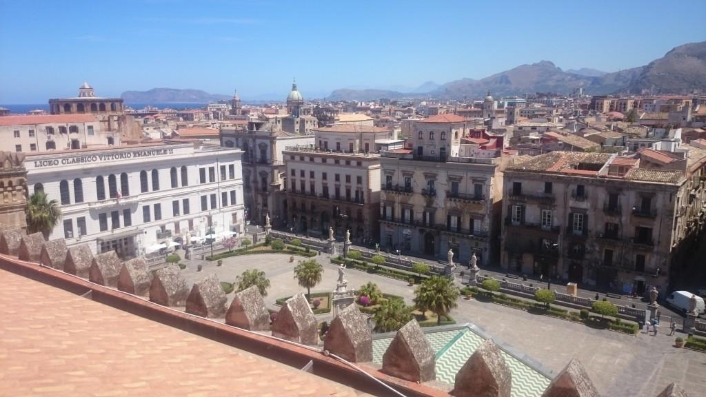Палермо. Изглед от покрива на катедралата