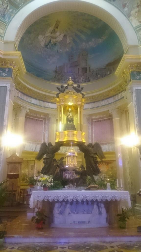 Тиндари. Статуята на Черната Мадона